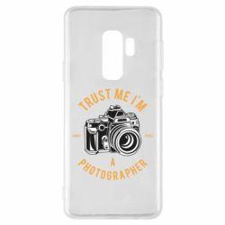 Чохол для Samsung S9+ Trust me i'm photographer