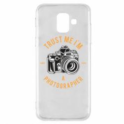 Чохол для Samsung A6 2018 Trust me i'm photographer