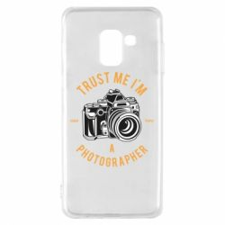 Чохол для Samsung A8 2018 Trust me i'm photographer