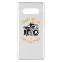 Чохол для Samsung Note 8 Trust me i'm photographer
