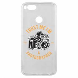 Чохол для Xiaomi Mi A1 Trust me i'm photographer