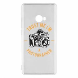 Чохол для Xiaomi Mi Note 2 Trust me i'm photographer
