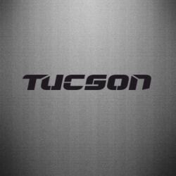 Наклейка Tucson