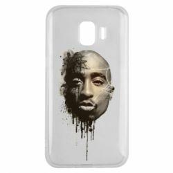 Чехол для Samsung J2 2018 Tupac Shakur
