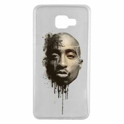 Чехол для Samsung A7 2016 Tupac Shakur