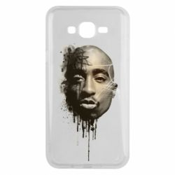 Чехол для Samsung J7 2015 Tupac Shakur