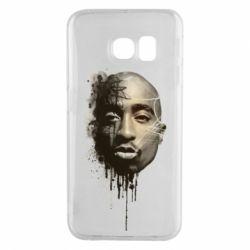 Чехол для Samsung S6 EDGE Tupac Shakur