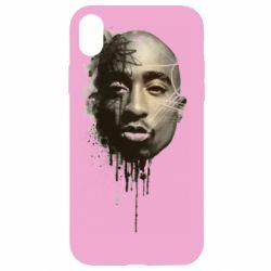 Чехол для iPhone XR Tupac Shakur