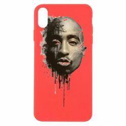 Чехол для iPhone Xs Max Tupac Shakur