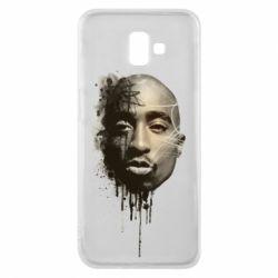Чехол для Samsung J6 Plus 2018 Tupac Shakur