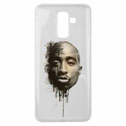 Чехол для Samsung J8 2018 Tupac Shakur