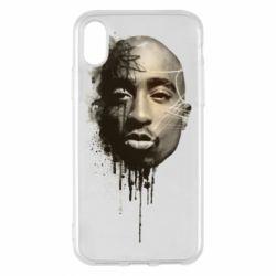 Чехол для iPhone X/Xs Tupac Shakur