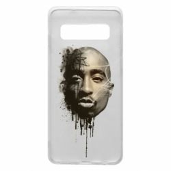 Чехол для Samsung S10 Tupac Shakur