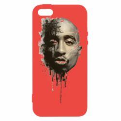 Чехол для iPhone5/5S/SE Tupac Shakur