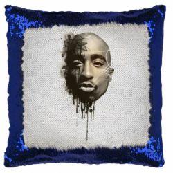 Подушка-хамелеон Tupac Shakur