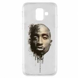 Чехол для Samsung A6 2018 Tupac Shakur