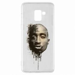 Чехол для Samsung A8+ 2018 Tupac Shakur