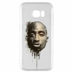 Чехол для Samsung S7 EDGE Tupac Shakur