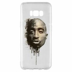 Чехол для Samsung S8+ Tupac Shakur