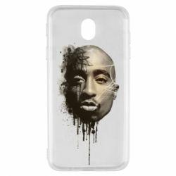 Чехол для Samsung J7 2017 Tupac Shakur