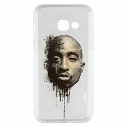 Чехол для Samsung A3 2017 Tupac Shakur