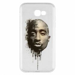 Чехол для Samsung A7 2017 Tupac Shakur