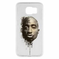 Чехол для Samsung S6 Tupac Shakur