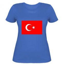 Женская футболка Турция - FatLine