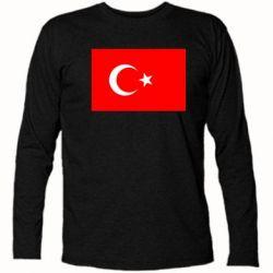 Футболка с длинным рукавом Турция - FatLine
