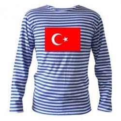 Тельняшка с длинным рукавом Турция - FatLine
