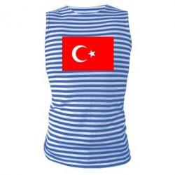 Майка-тельняшка Турция - FatLine
