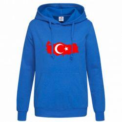 Женская толстовка Turkey - FatLine