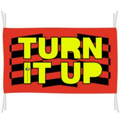 Прапор Turn It Up Track