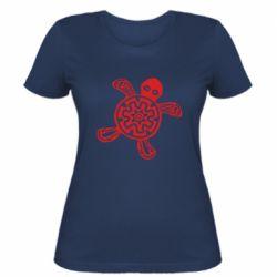 Жіноча футболка Turtle fossil