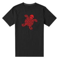 Чоловіча стрейчева футболка Turtle fossil