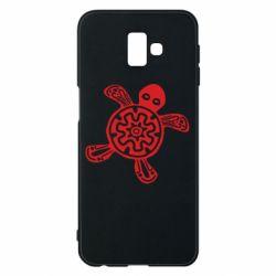 Чохол для Samsung J6 Plus 2018 Turtle fossil