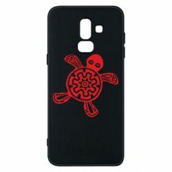 Чохол для Samsung J8 2018 Turtle fossil