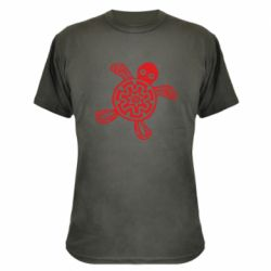 Камуфляжна футболка Turtle fossil