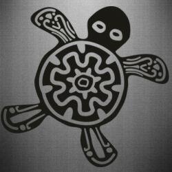 Наклейка Turtle fossil