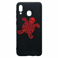 Чохол для Samsung A30 Turtle fossil