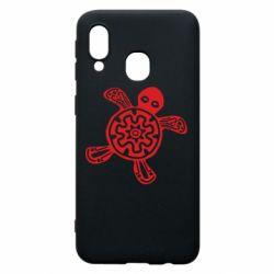 Чохол для Samsung A40 Turtle fossil