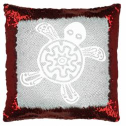 Подушка-хамелеон Turtle fossil