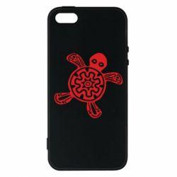 Чохол для iphone 5/5S/SE Turtle fossil