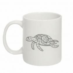 Кружка 320ml Turtle with patterns