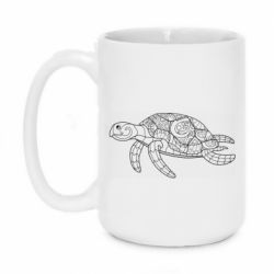 Кружка 420ml Turtle with patterns