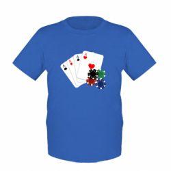 Детская футболка Тузы - FatLine
