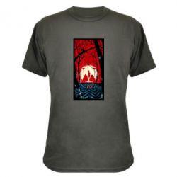 Камуфляжная футболка Твин Пикс Лес