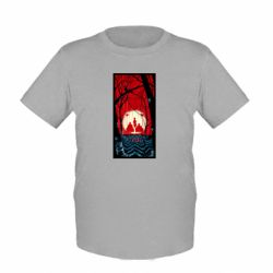 Детская футболка Твин Пикс Лес