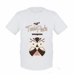 Женская футболка поло Твин Пикс сова 2