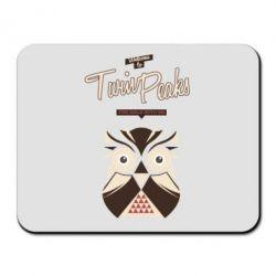 Коврик для мыши Твин Пикс сова 2